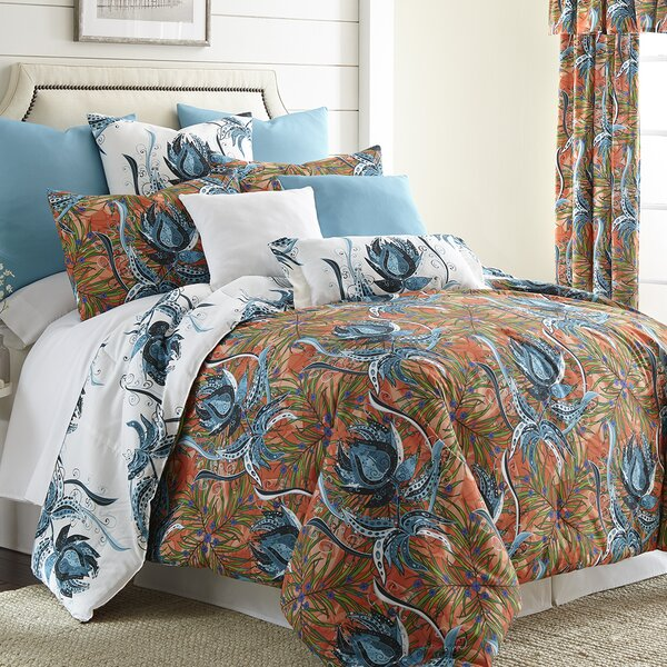 Jerin 100% Cotton Reversible Comforter Set by Bayou Breeze